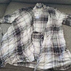Motherhood Maternity Nursing Flannel